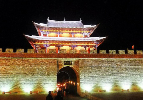 Cangshan gate, one of the 4 gates of Dali Ancient City