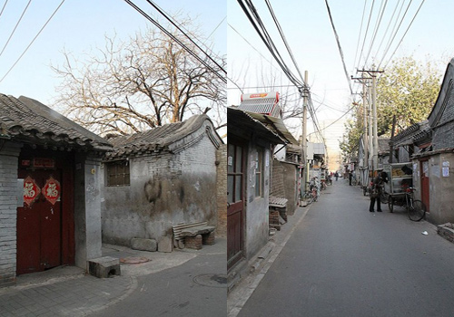The old Hutongs in Beijing keep the memories of many local people's childhood.