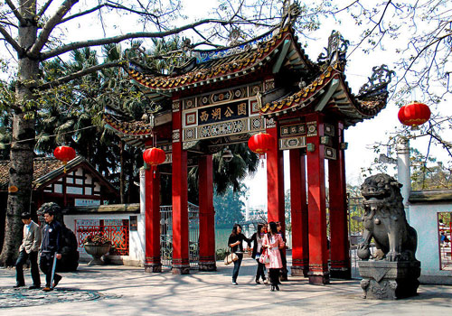 West Lake Park is the most well-preserved and intact classical garden in Fuzhou.
