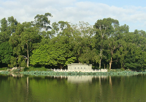West Lake Park,Fuzhou Attractions,Fuzhou Tours,China Tours.