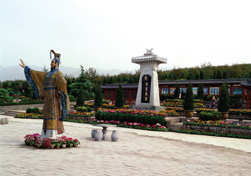 Emperor Qin Shihuang is recognized as the First Emperor who unified China and established a unified feudal country,Xi'an.