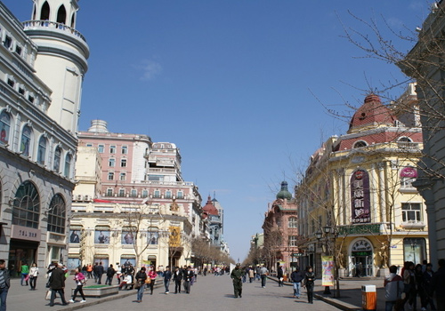 Central Street is one of the longest pedestrian street in Asia.