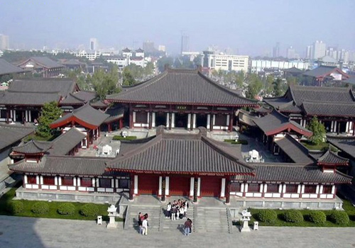 The Xuanzang Hall of the Daci'en Temple in Xi'an