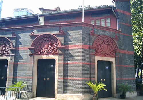 The Shikumen house in Xintiandi where the First National Congress of Communist Party of China was held.