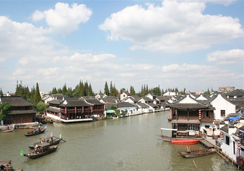 Zhujiajiao Ancient Town is one of the first four major towns in China.
