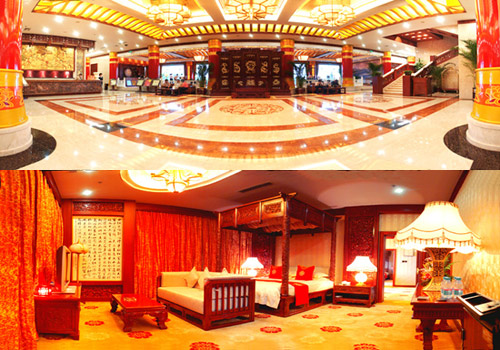 The Fanglinyuan Hotel in Tang Paradise.