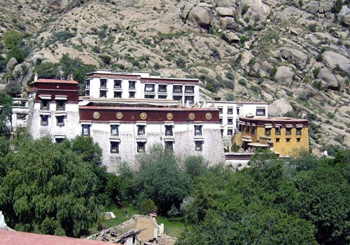 "Sera Monastery is among ""the three great monasteries of Lhasa""."