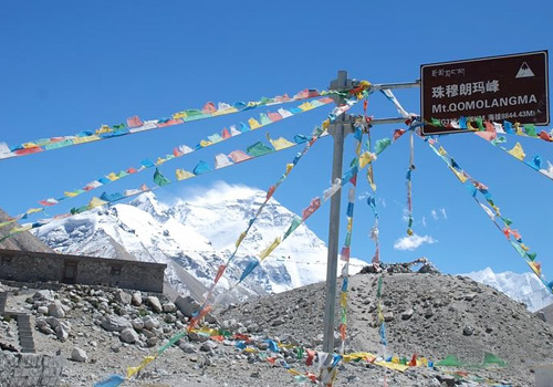 Some of the most amazing views of Mt.Everest can be enjoyed in the North Base Camp.