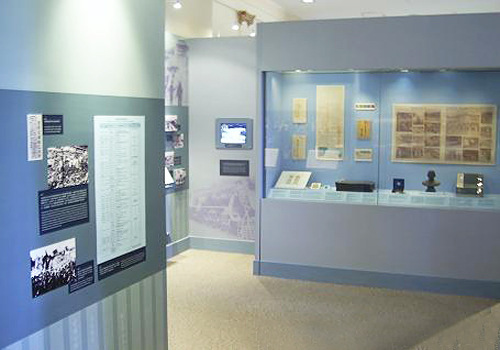 Exhibition hall in the museum are mostly the accessories of Mr.Sun.