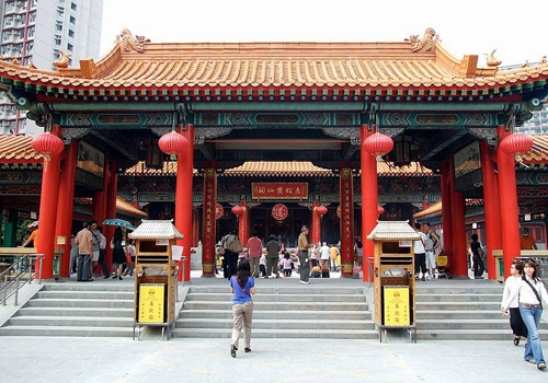 Wong Tai Sin Temple is one of the most temples in Hong Kong.