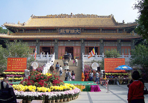 Po Lin Monastery is the head of the Four Buddhist Temples in Hong Kong.