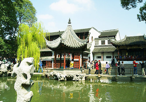 Lion Grove is one of the Four Best Known Classical Gardens in Suzhou.