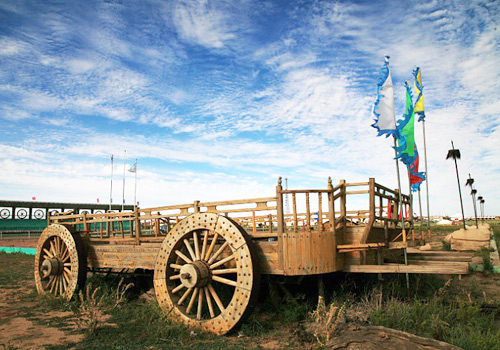 Yurt is an important means of transportation in Mongolia region.