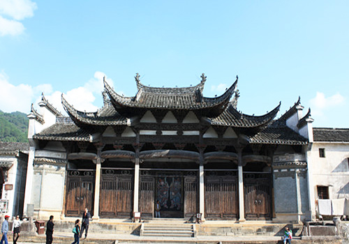 Wu Family Ancestral Temple in Beian Village,Shexian County,Huangshan