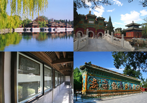The North Shore,Beihai Park,Beijing Attractions