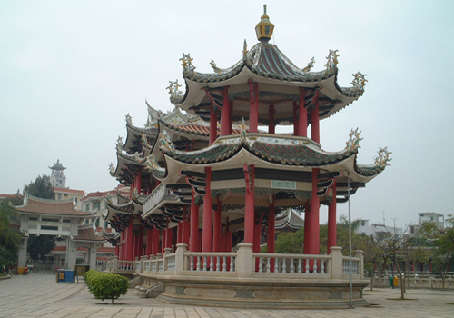Traditional style architectural complex at Jimei.