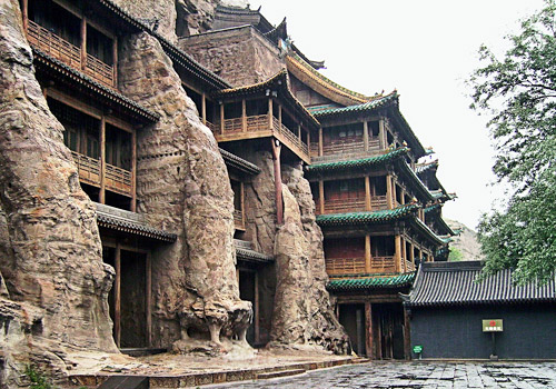 Giant Buddha Hall of Yungang Grottoes,Datong