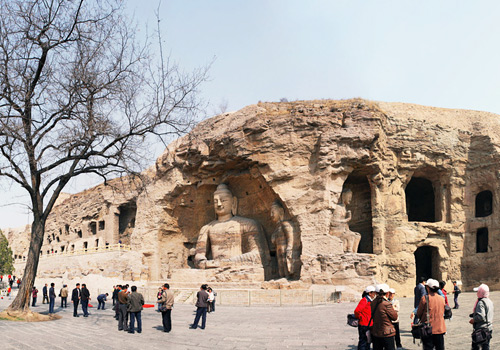 Yungang Grottoes of Datong is deemed as one of the Three Largest and Most Famous Grottoes Clusters of China.