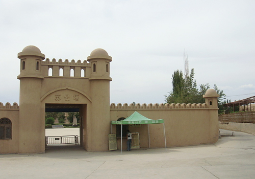 Emin Minaret (Su Gong Ta) is the largest Islamic tower in Xinjiang Uygur Autonomous Region.