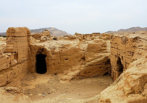 Ancient City of Jiaohe has a history over 2000 years.