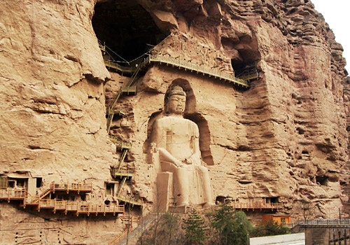 Bingling Temple Caves is one of the Four Most Famous Caves in China just second to Mogao Grottoes of Dunhuang.