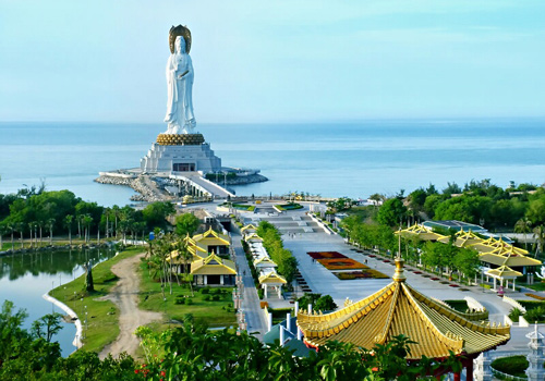 On-sea Avalokitesvara,Nanshan Temple,Sanya City, Hainan Island