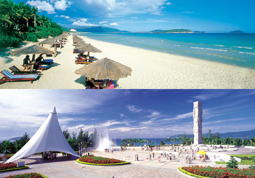 Yalong Bay is a very famous attractions of Sanya,Hainan Island.