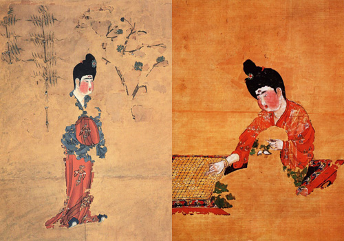 Paintings unearthed are particularly famous for their superb skills and art values.