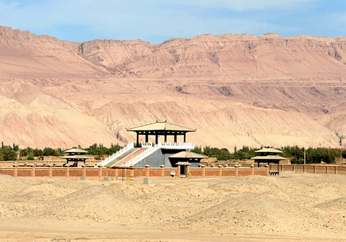 "Known as a magical ""Underground Museum"" in Turpan, Astana-Karakhoja Ancient Tombs is a burial ground of Tang Dynasty."