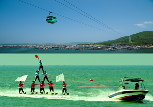 Nanwan Monkey Island is one of the famous attractions of Sanya,Hainan.