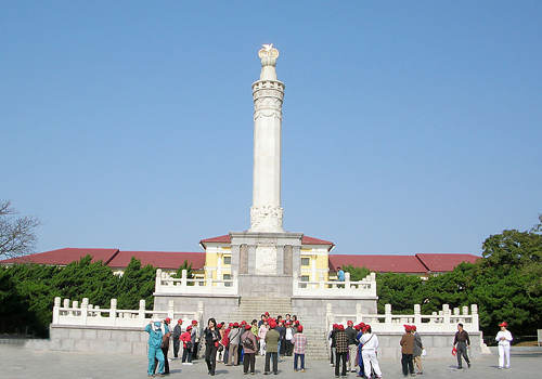 Memorial Tower of Sino-Soviet Friendship of Lvshun,Dalian