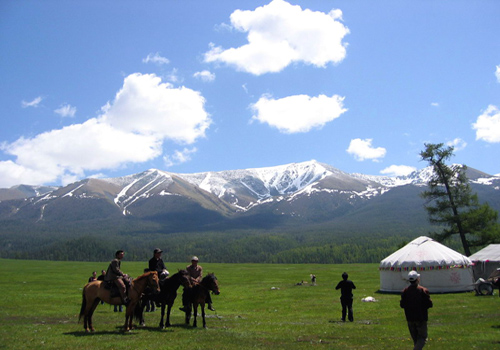 South Pasture is a famous attraction of Urumqi,Xinjiang.