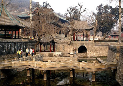 Jinci Temple is an famous ancient temple of Taiyuan.
