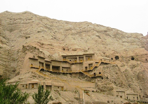 Kizil Grottoes was built in the 3rd century and completed till in the 9th century.