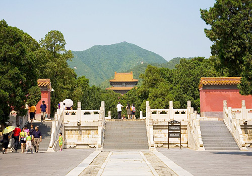 Zhao Mausoleum is the one that has been restored.