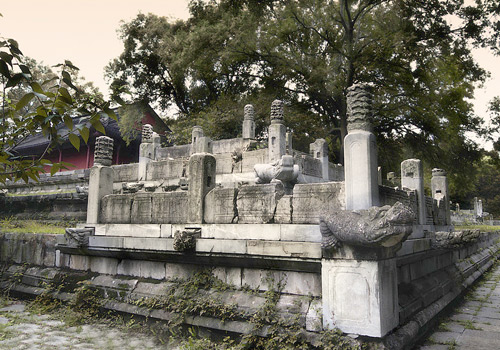 The stone carvings of Ming Xiaoling Tomb,Nanjing