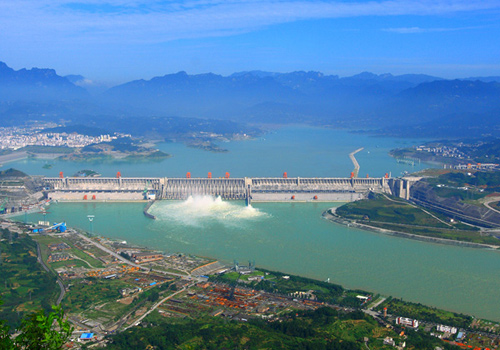 Three Gorges Dam,Yichang,Yangtse River atrractions.