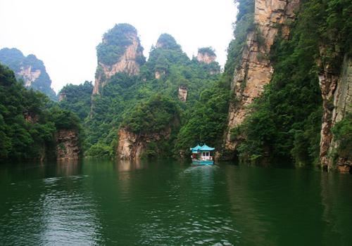 Asia Wulingyuan Scenic Amp Historic Interest Area China