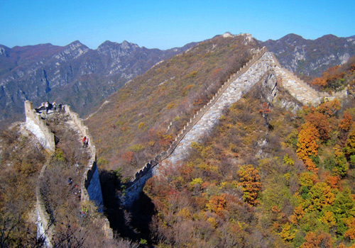 Jiankou Great Wall is well-known for being the most precipitous great wall constructed in Ming Dynasty.