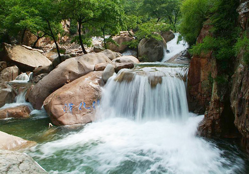 The Juhua Pool in Mount Laoshan,Qingdao