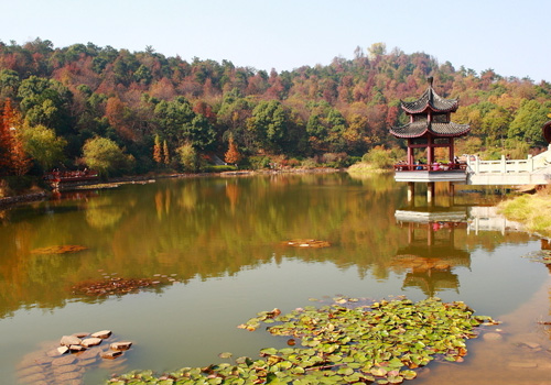 Yuelu Hill Scenic Area is consisting of natural sceneries and humanistic attractions.