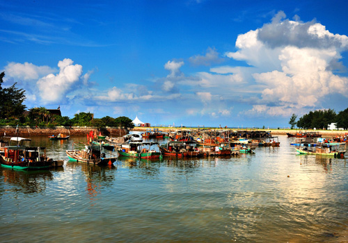 Beihai in the history was the starting point of Maritime Silk Road and a foreign trading port.