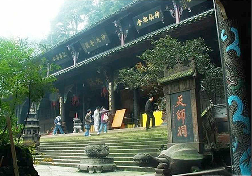 Tianshi Cave has long been an oasis for Taoists.