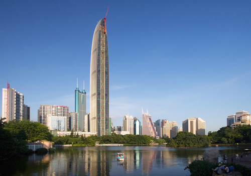 One of the landmarks of Shenzhen-KingKey100
