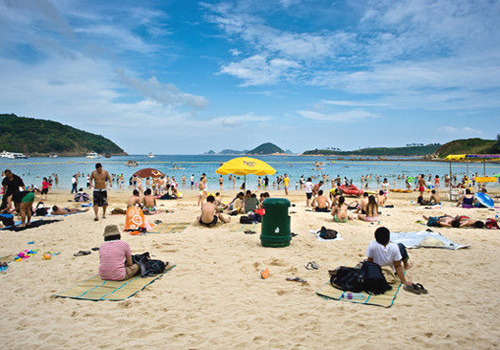 Clear Water Bay in New Territories has fine beaches.