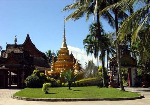 Mange Buddhist Temple is the oldest Buddhist temple in Xishuangbanna Dai Autonomous Prefecture.