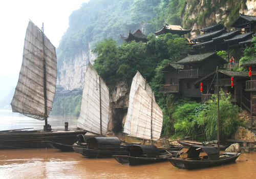 Stunning sights in Yichang,Hubei Province