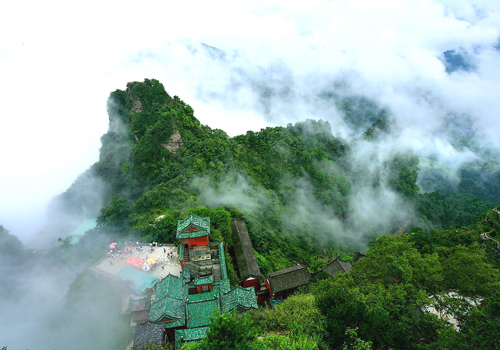 Yichang's iconic Wudang Mountain is a World Heritage site and a Taoist shrine.