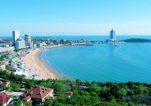 First Bathing Beach of Qingdao was once the largest and best bathing beach in Eastern Asia.