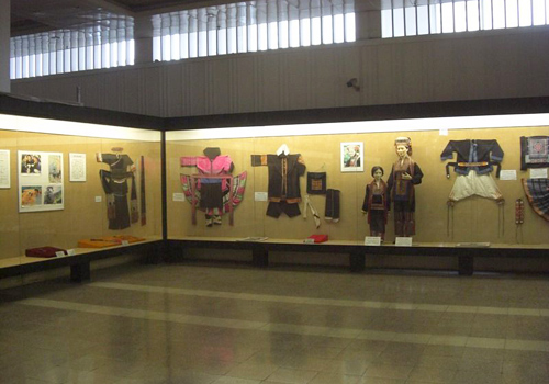 The Guangxi nationality folkways exhibition collects featured folk custom of 11 ethnic groups live in Guangxi.